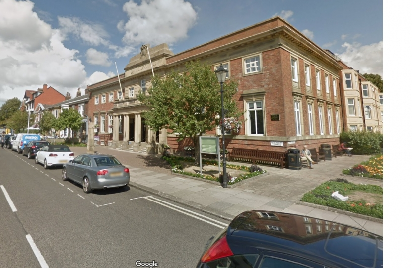Lytham Assembly Rooms has been earmarked as the site for Lytham Library. PIC: Google