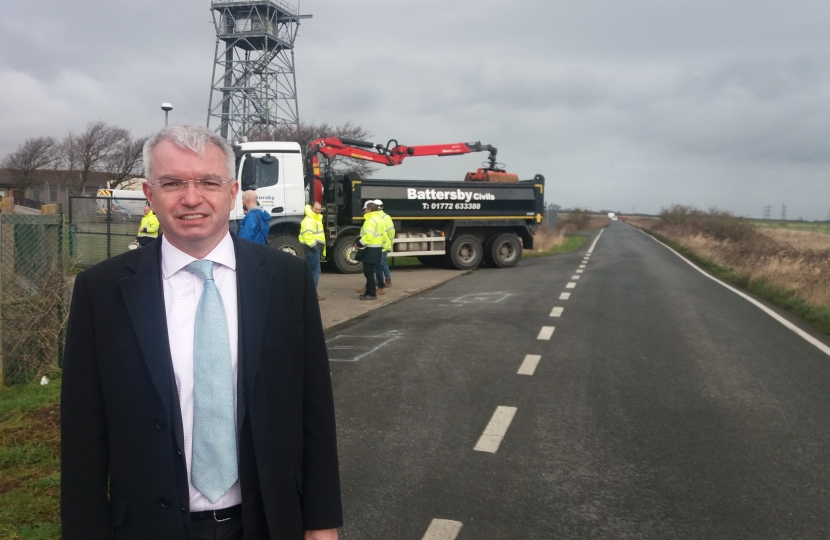 Mark Menzies MP on the Moss Road