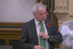 Mark Menzies MP during his debate on shale gas planning regulations