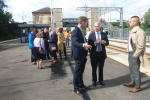 Mark MEnzies MP on the revamped Kirkham Station