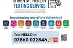 Wellbeing and Mental Health Texting Service