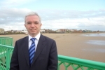 Mark Menzies MP on St Annes Pier